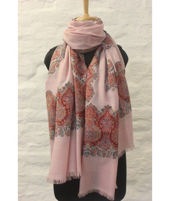 SHAWL KANI PURE WOOL